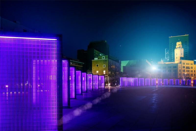 ブログ記事用無料イメージ画像:横浜の夜景風景イルミ 4素材