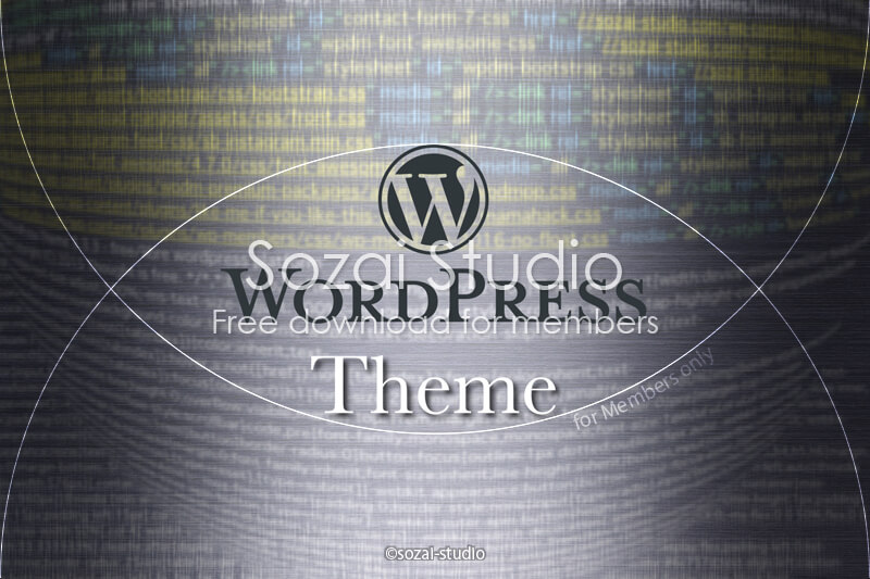ブログ記事用無料イメージ画像:Wordpressコード背景(1)SEO・CSS・Theme・Plugin