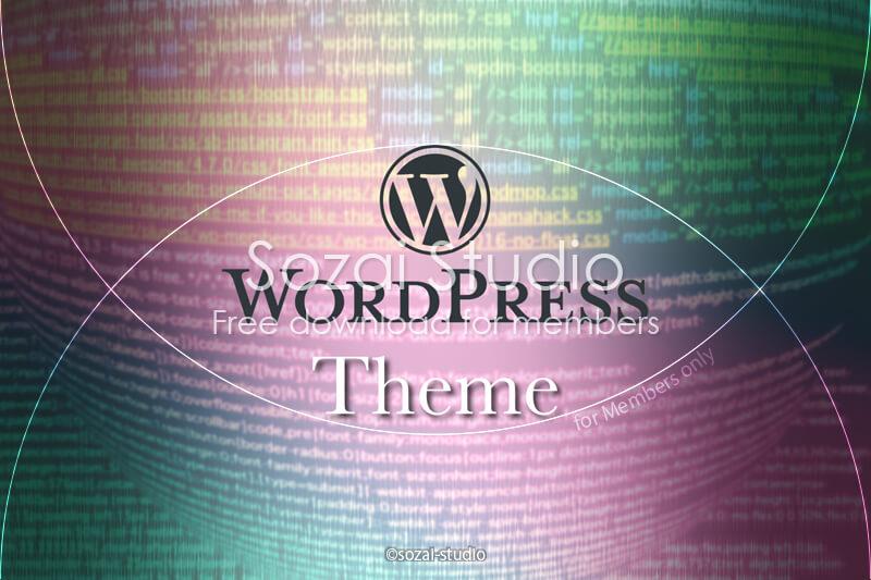 ブログ記事用無料イメージ画像:WordPressコード背景(2)カラーバージョン|素材スタジオ