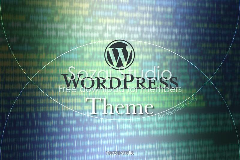 ブログ記事用無料イメージ画像:WordPressコード背景(3)SEO・CSS・Theme・Plugin