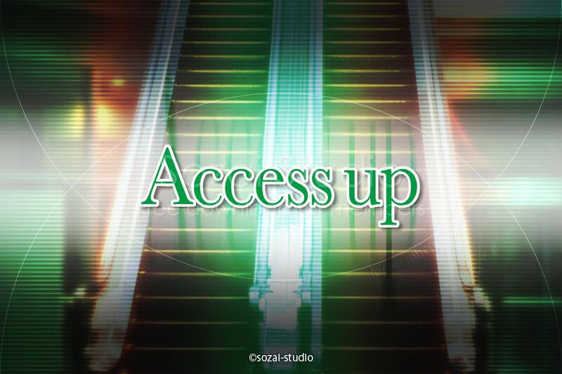 ブログ記事無料アイキャッチ画像:ブログのアクセスアップ4素材